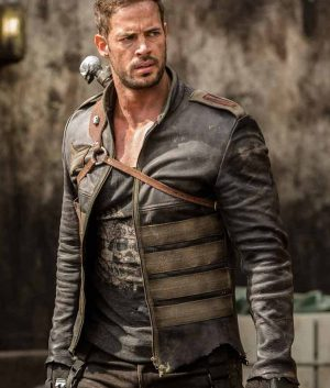William Levy Resident Evil The Final Chapter Christian Leather Jacket