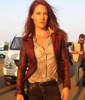 Ali Larter Resident Evil The Final Chapter Claire Redfield Leather Jacket