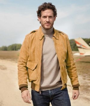 Coughlin Mens Leather A-2 Jacket