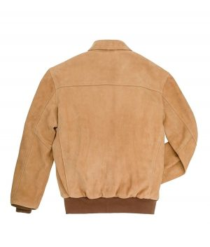 Coughlin Mens Leather A-2 Bomber Jacket