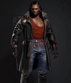 Cyberpunk 2077 Placide Leather Coat