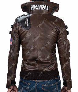 Cyberpunk 2077 Samurai Character Leather Jacket