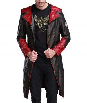 DMC Devil May Cry Dante Hooded Leather Coat