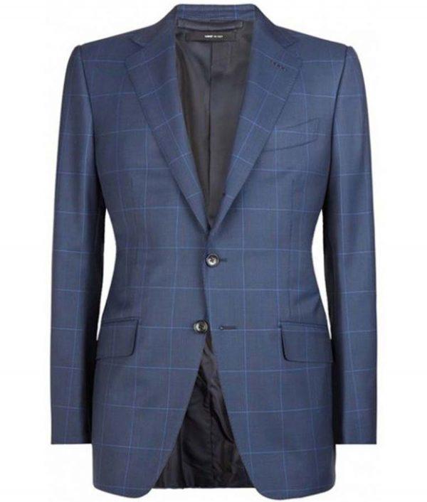 James Bond Spectre Blue Suit
