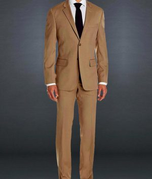 James Bond Morocco Brown Suit