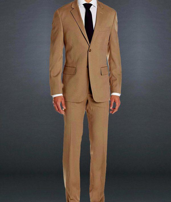James Bond Morocco Brown Suit