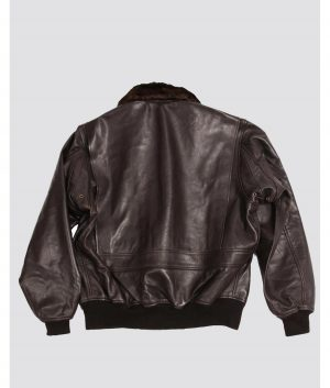 David Mens G-1 Flight Bomber Leather Jacket