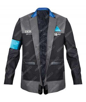 Detroit Become Human Connor Bryan Dechart RK800 Uniform Grey Jacket