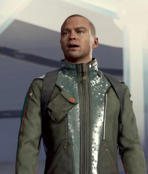 Detroit Become Human Markus Leather Jacket
