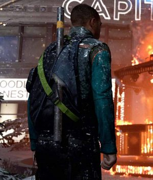 Detroit Become Human PS4 Video Game Markus Jacket
