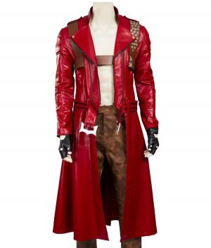 Devil May Cry Video Game 3 Dante Red Coat