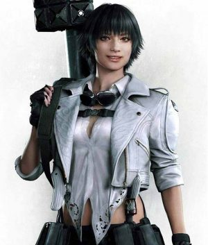 Devil May Cry 5 Lady White Jacket