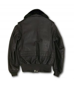 Dewey Mens Schott Cowhide Leather Flight Jacket