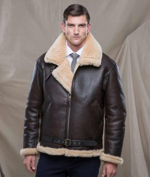 Edward Mens R.A.F Sheepskin Jacket