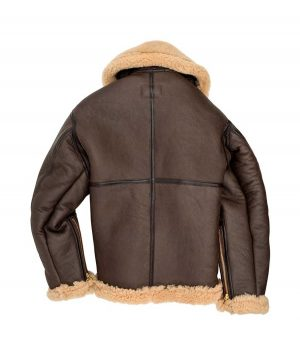 Edward Mens R.A.F Sheepskin Bomber Jacket