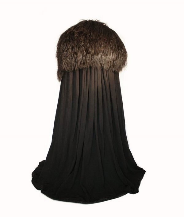Jon Snow Game Of Thrones Kit Harington Night's Watch Cloak Cape Costume
