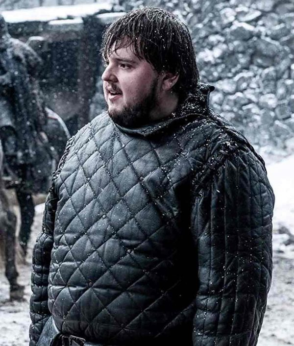 Game Of Thrones Samwell Tarly Leather Jacket