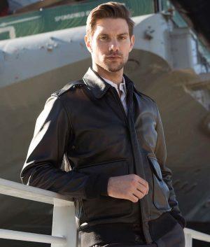 George Mens Pilot A-2 Flight Jacket