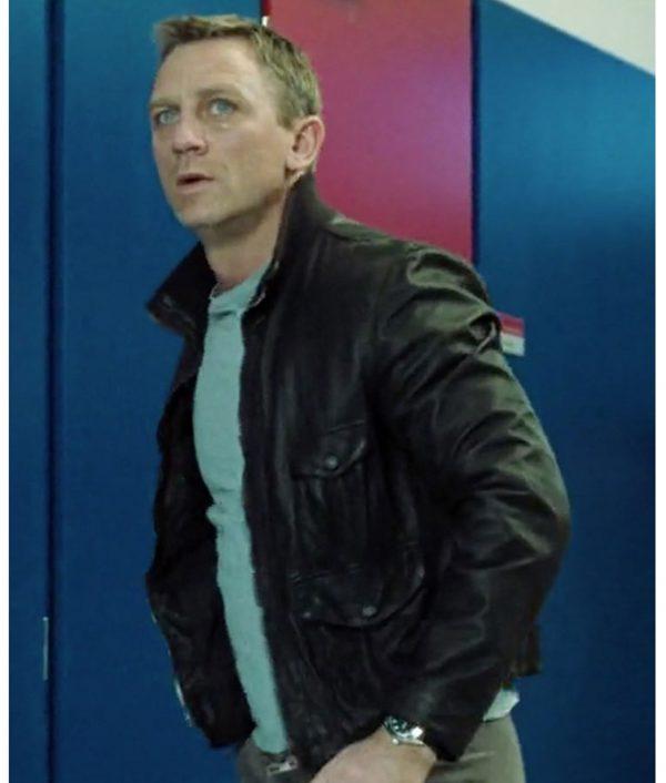 James Bond Casino Royale Leather Jacket