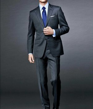 James Bond Daniel Craig Spectre Grey Suit