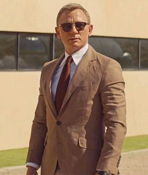 Daniel Craig Spectre James Bond Morocco Brown Suit