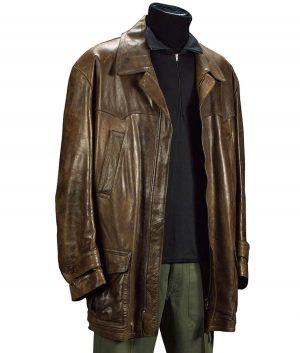 James Bond Pierce Brosnan Tomorrow Never Dies Leather Jacket