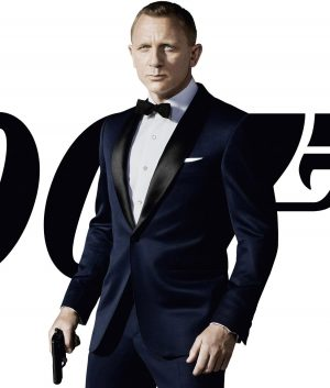 James Bond Skyfall Midnight Blue Suit