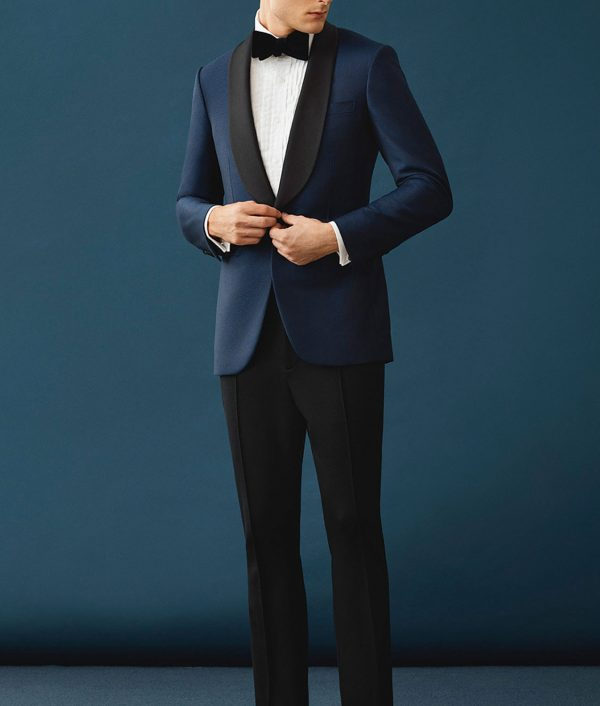 James Bond Skyfall Blue Dinner Tuxedo