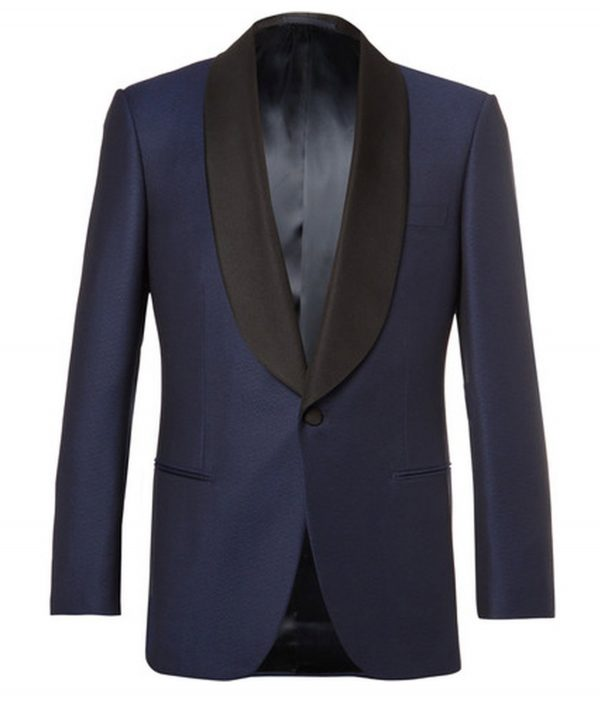 James Bond Skyfall Midnight Blue Dinner Tuxedo