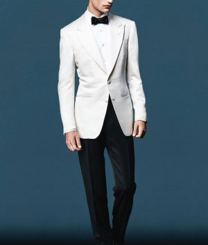 James Bond Spectre Ivory Dinner Suit