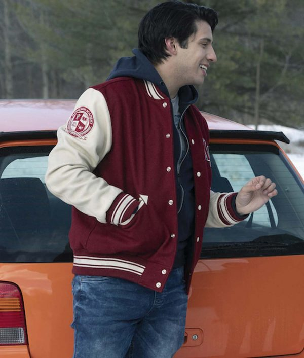 Javi Locke & Key Letterman Jacket