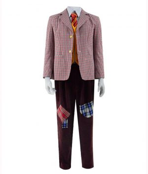 Joker Arthur Fleck Checkered Blazer