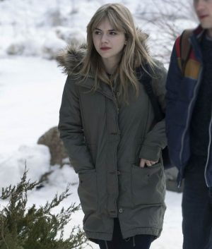 Kinsey Locke & Key Parka Olive Green Jacket