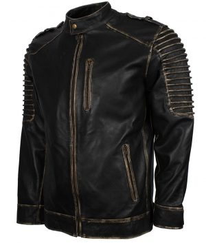 Suicide Squad Biker Mens Black Joker Jacket