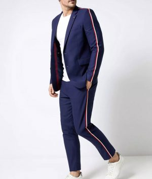 Elite S03 Guzmán Side Stripe Suit Jacket