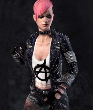 Mortal Kombat 11 Cassie Cage Punk Jacket