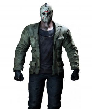 Mortal Kombat X Jason Distressed Jacket