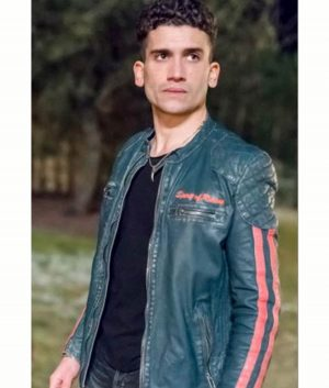 Jaime Lorente Nano Motorcycle Elite Leather Jacket