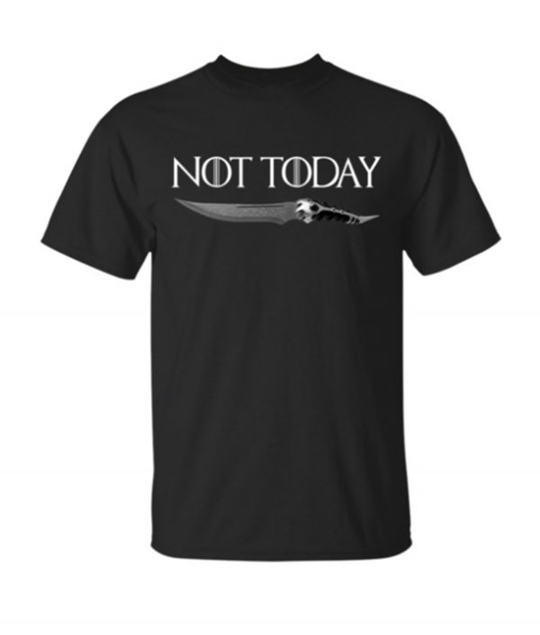 Not Today Knife Arya Stark Game Of Thrones Hoodie