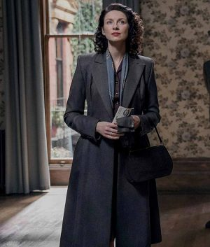 Outlander Season 03 Caitriona Balfe Claire Randall Trench Coat