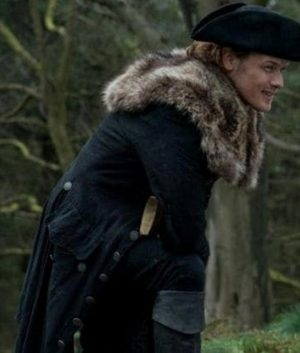 Outlander Season 04 Jamie Fraser Fur Coat