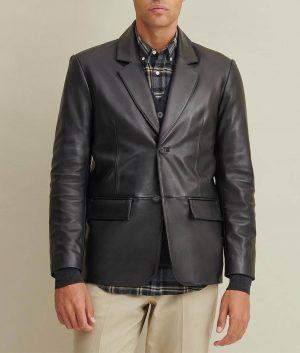 Paul Mens Genuine Leather Blazer