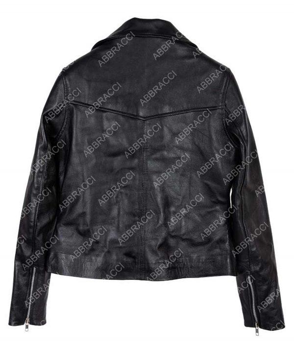 Freddie Mercury Bohemian Rhapsody Rami Malek Black Motorcycle Jacket
