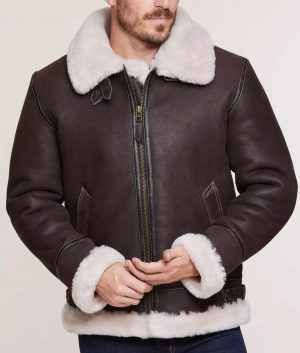 Richard Mens Classic Sheepskin Jacket