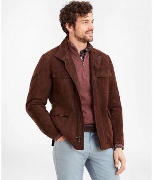 Roberto Mens Brown Jacket