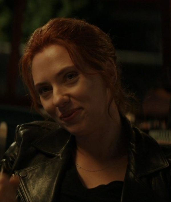 Black Widow 2020 Natasha Romanoff Motorcycle Jacket
