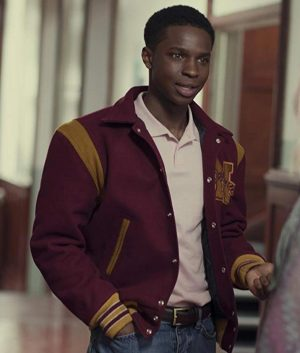 Jackson Marchetti Sex Eduction Letterman Jacket