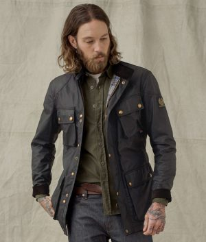 Simpson Mens Trialmaster Black Jacket