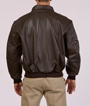 Singley Mens Classic Leather Jacket