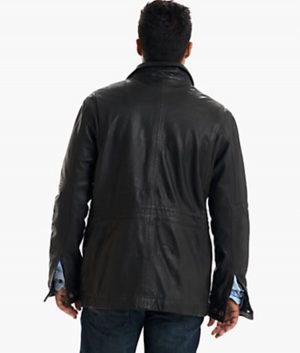Stephen Mens Mount Major Leather Jacket